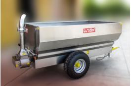 Trailers for grapes in stainless steel G2-G4
