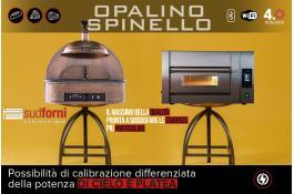 Forni elettrici piano in argilla OPALINO e SPINELLO