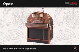 Forno elettrico per pizza napoletana OPALE