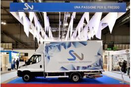 Noleggio veicoli refrigerati per trasporto alimenti