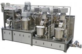 Impianto di raffinazione in continuo cioccolato P10S-CI
