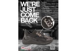 Ganci multipli per sneakers