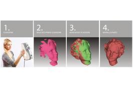 Sistema di scansione laser 3D Artec