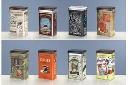 Barattoli in latta per caffè personalizzabili