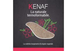 Solette calzature origine vegetale Kenaf
