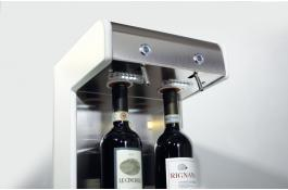 Dispenser vino 2 bottiglie DUE