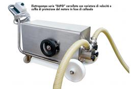Electric pump for the pharmaceutical industry Rapid Sanitaria
