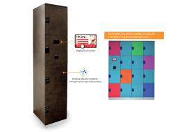Ambient Control: Electronic cabinets with RFID systems i-boxy