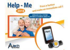 Chiamata assistenza anziani wireless HELP ME