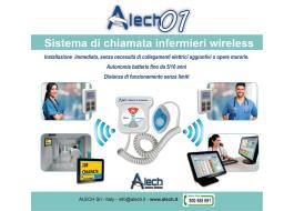Sistemi di chiamata infermieri senza fili Alech01
