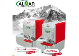 Biomass boiler burning wood chips PICCO TRE SIGNORI e COLL'ALTO