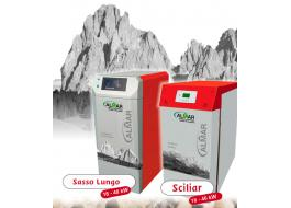 Heating with wood boilers silent SASSO LUNGO e SCILIAR