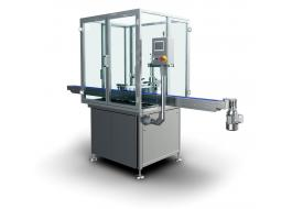Compact capping machine for liquids AQUILA