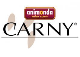 Cibo per gatti a base di carne Carny