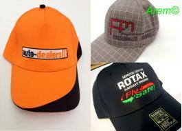 Cappellini promozionali per eventi sportivi o fashion