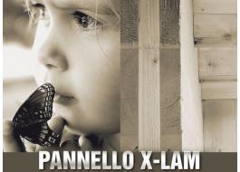 Pannelli a strati per prefabbricati in legno X-LAM