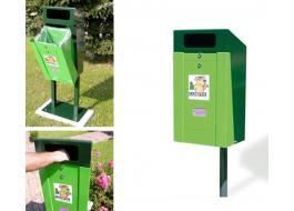 Sistema per la raccolta delle deiezioni canine Luisito Dog Clean