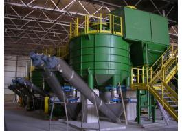 Macchine pretrattamento rifiuti per produzione biogas