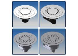 Manhole siphoned stainless steel series GMP