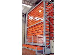 Vertical automatic warehouse for long goods BI.MAG.