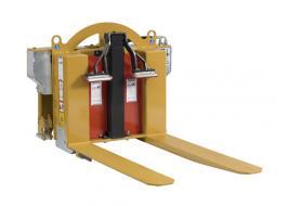 Rovesciatore bins per carrelli elevatori CM 165 FLAP