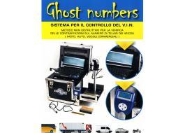 Sistema di controllo numero telaio autoveicoli Ghost Numbers