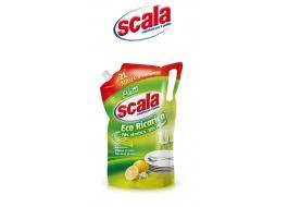 Detergente sgrassante piatti formato ecoricarica Scala