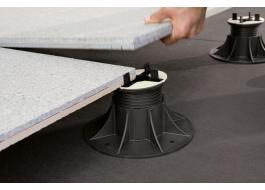 Sistema modulare per pavimenti sopraelevati Pedestal