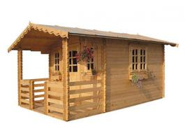 Fir timber houses for garden furniture