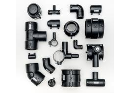 Electro-weldable polyethylene fittings