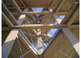 Tetti ventilati in legno lamellare