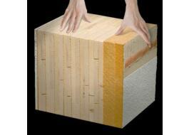 Pareti portanti in legno massiccio