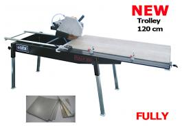 Manual machine for cutting tiles Fully