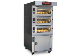 Professional deck ovens for bakeries