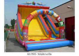 Inflatable outdoor and indoor