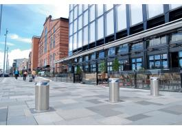 Bollards for vehicle access control SL and HSL