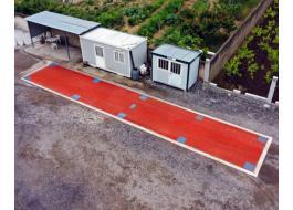 Мостовые весы для сверхпрочных дорожных транспортных средств