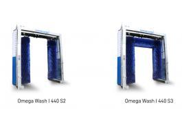 Sistemi di lavaggio a portale per veicoli industriali Omega Wash