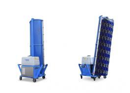 Sistema di lavaggio mobile monospazzola con trazione oleodinamica Easy Wash 300