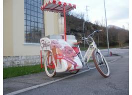Bici per vendita ambulante gelato Bike'n Go