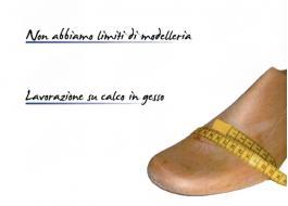 Produzione scarpe ortopediche su misura