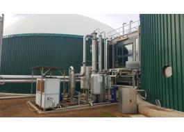 Impianti professionali di depurazione biogas