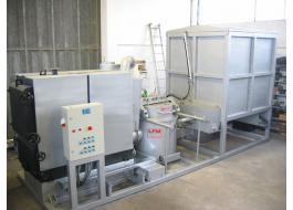 Bruciatore di biomasse per impianti termici