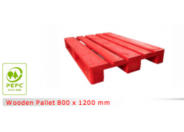 Wooden pallets for automated lines 800 x 1200