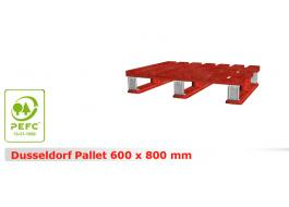 Pallets for storage of goods Dusseldorf