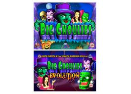 Schede gioco comma 6A Big Ghoulies e Big Ghoulies Evolution