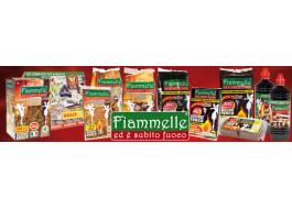 Lighter products for barbecues, fireplaces and stoves Fiammelle