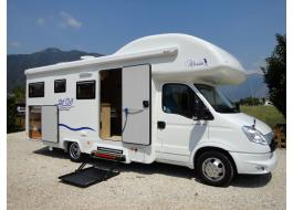 Camper accessible for disabled