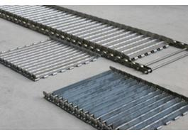 Carpets for conveyors in stainless steel