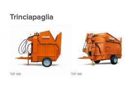 Trinciapaglia per allevamenti TDF 200/300
